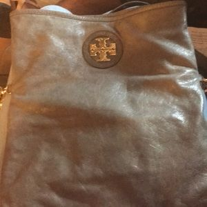 Tory Burch Crossbody Grey Adjustable Bag